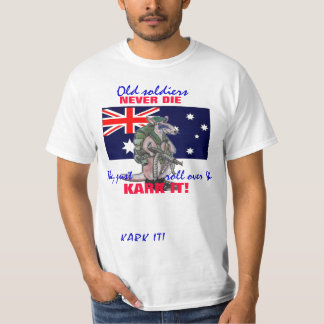 OLD SOLDIERS T SHIRT
