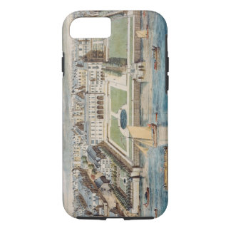Old Somerset House on the Strand, engraved by Jean iPhone 7 Case