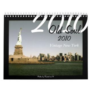 Old Soul 2010 Vintage New York (Faded Colors ed.) Wall Calendar