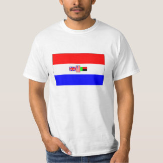 Old South Africa Flag Tee Shirts