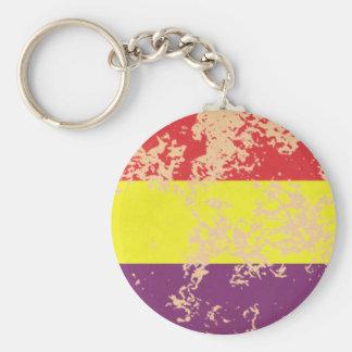 Old Spanish Republic Key Ring