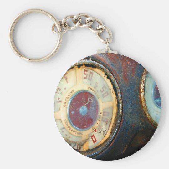 Old Speed Key Ring