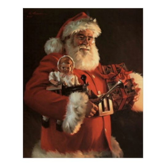 Old St. Nick Poster