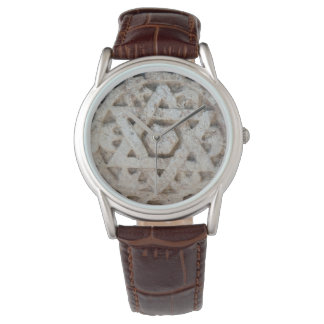 Old Star of David carving, Israel Wristwatches