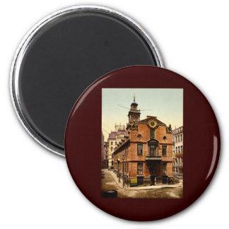 Old State House Boston Massachusetts 6 Cm Round Magnet