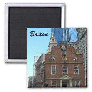 Old State House, Boston Square Magnet