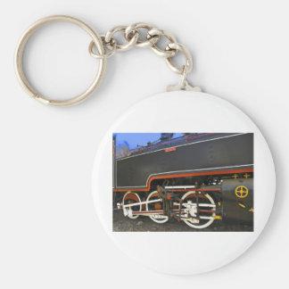 old steam locomotive key chain