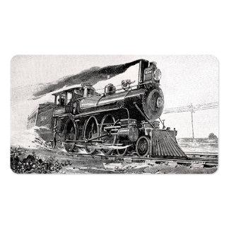 Old Steam Locomotive Pack Of Standard Business Cards
