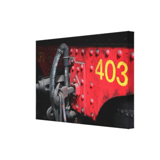 Old Steam Train Le Mastrou 403 Steam Engine Canvas Canvas Prints