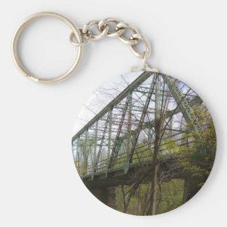 Old Steel Bridge Key Chains