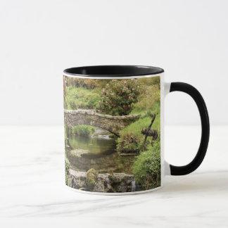 Old Stone Bridge Over A Stream In Dartmoor Park Mug