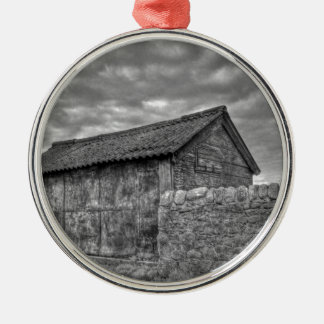 Old stone house in Lancashire Christmas Ornament