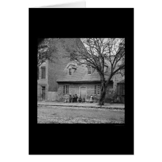 Old Stone House in Richmond VA 1865 Cards