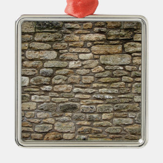 Old Stone wall Christmas Ornament