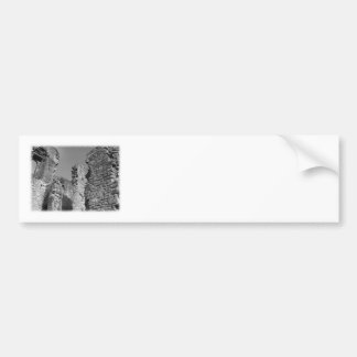 Old Stone Walls and Sky. Bumper Sticker