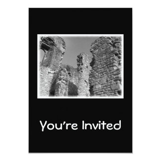 Old Stone Walls and Sky. 5x7 Paper Invitation Card