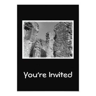 Old Stone Walls and Sky. Custom Invites