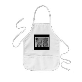 Old Stone Walls and Sky. Kids Apron