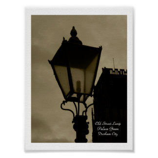 Old Street Lamp Print
