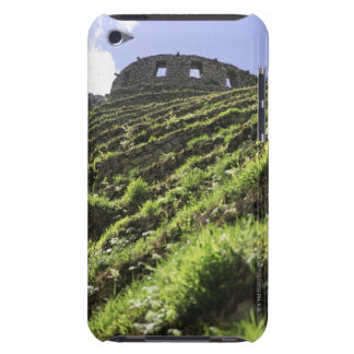 Old structure at top of steep hill iPod touch Case-Mate case