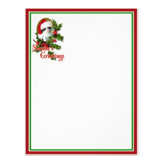 Old Style Christmas Kitten Season's Greetings 21.5 Cm X 28 Cm Flyer
