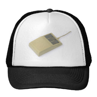 old style computer mouse trucker hat