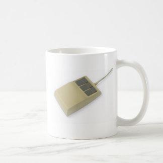 old style computer mouse coffee mug