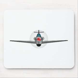 Old Style Fighter Aircraft Mouse Mat