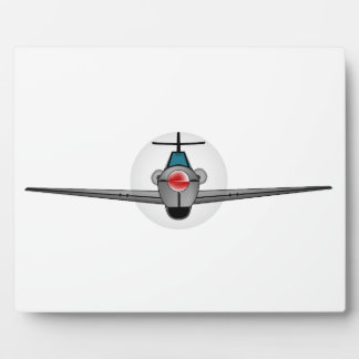 Old Style Fighter Aircraft Plaque