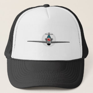 Old Style Fighter Aircraft Trucker Hat