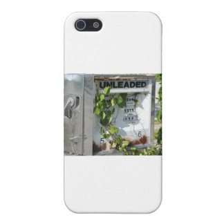 Old style gas pump iPhone 5 covers