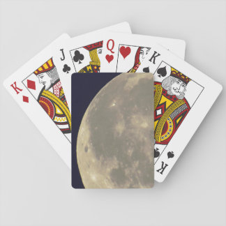 Old Style Moon Photo Playing Cards