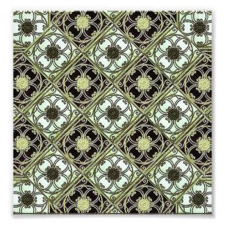 Old Style Ornament Pattern Art Photo