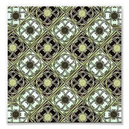 Old Style Ornament Pattern Art Photo