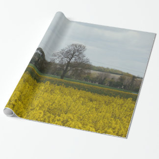 Old style photo landscape wrapping paper