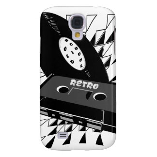 old style retro galaxy s4 case