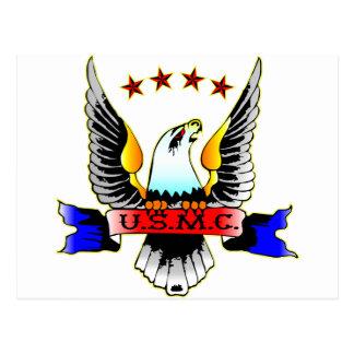 Old Style USMC Postcards