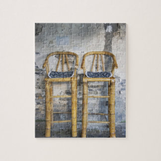 Old styled bamboo chairs, Xitang, Zhejiang, Puzzle