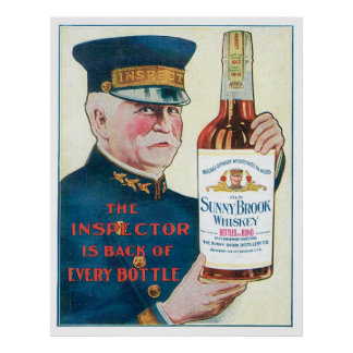 Old Sunny Brook Whiskey Poster