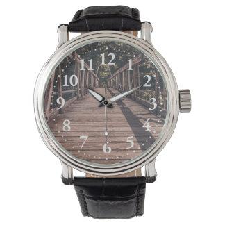 Old Suspended bridge Wrist Watch