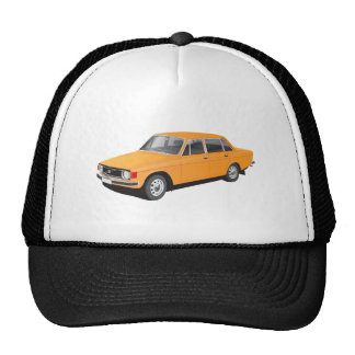 Old Swedish car from early 70's Cap
