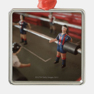 Old table football player christmas ornament