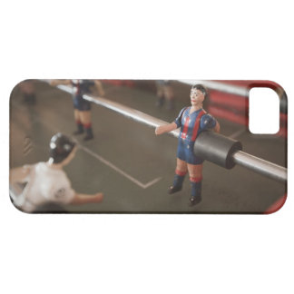 Old table football player iPhone 5 cases