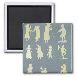 Old Tales Square Magnet