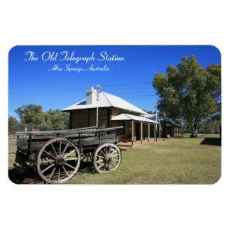 Old Telegraph Station, Alice Springs - Magnet