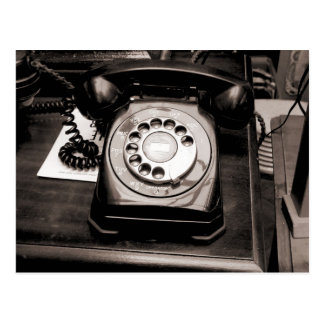 Old Telephone Postcard