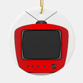 Old Television Set Christmas Ornament