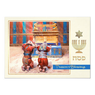 Old Testament Fine Art Passover Greeting Cards 13 Cm X 18 Cm Invitation Card