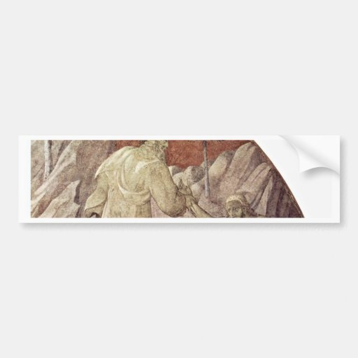 Old Testament Frescoes On Genesis In The Cloister Bumper Sticker