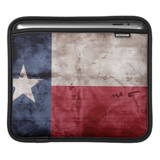 Old Texas Flag Sleeves For iPads